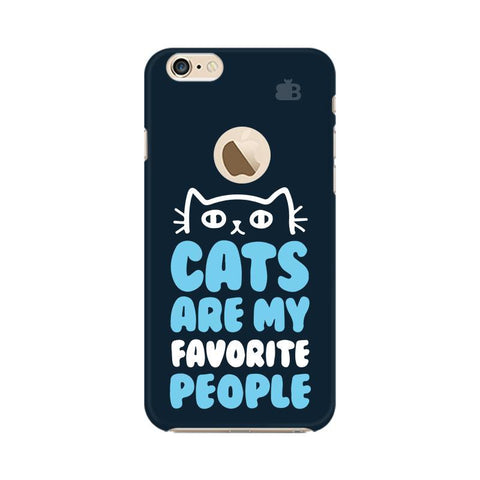 Cats favorite People Apple iPhone 6s with Apple Round  Phone Cover