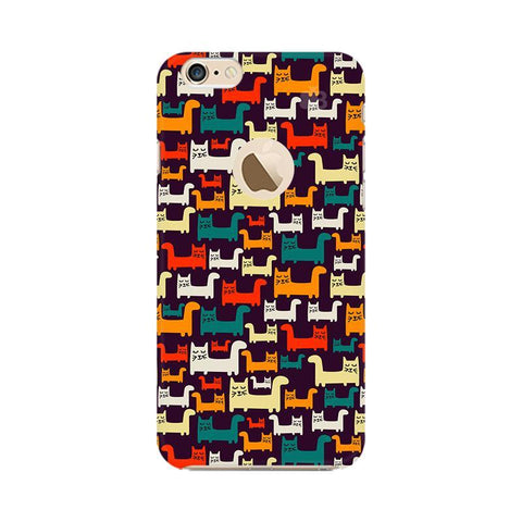 Chill Cats Apple iPhone 6s with Apple Round  Phone Cover