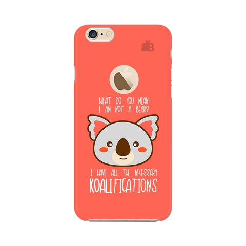 Koalifications Apple iPhone 6s with Apple Round  Phone Cover