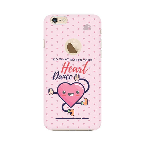 Make Your Heart Dance Apple iPhone 6s with Apple Round  Phone Cover