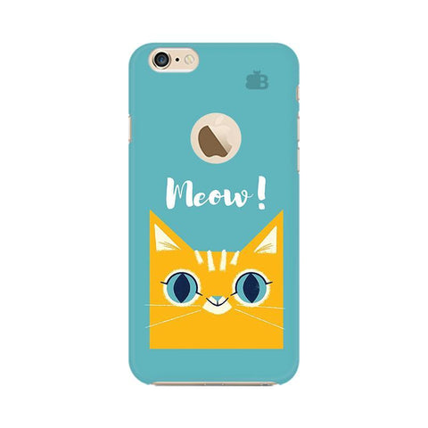Meow Apple iPhone 6s with Apple Round  Phone Cover