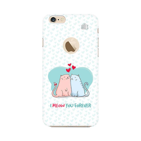 Meow You Forever Apple iPhone 6s with Apple Round  Phone Cover