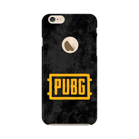 PUBG Apple iPhone 6s with Apple Round Cover