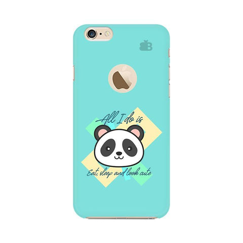 Panda Life Apple iPhone 6s with Apple Round  Phone Cover