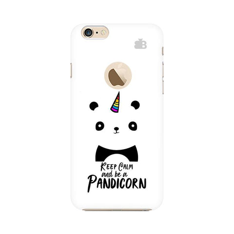Pandi-Corn Apple iPhone 6s with Apple Round  Phone Cover