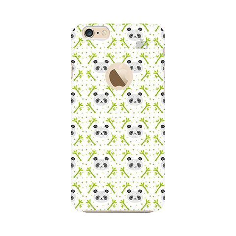 Peaceful Panda Apple iPhone 6s with Apple Round  Phone Cover