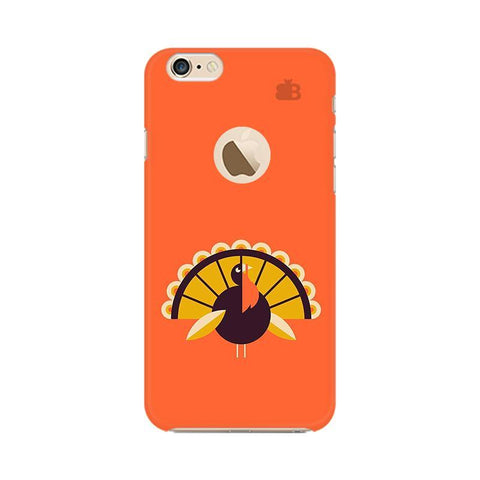 Peacock Apple iPhone 6s with Apple Round  Phone Cover