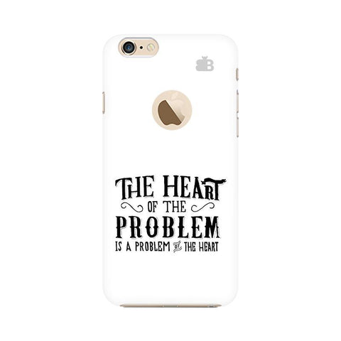 Problem of the Heart Apple iPhone 6s with Apple Round  Phone Cover