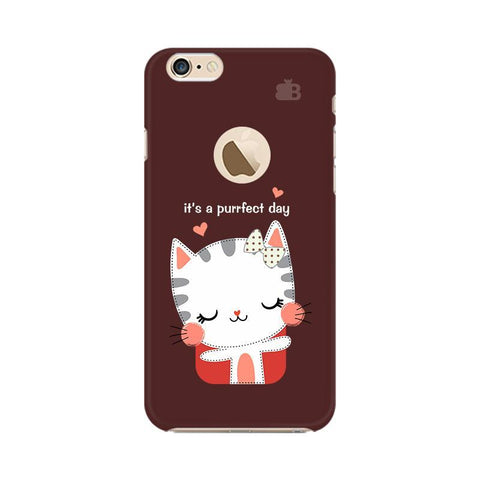 Purrfect Day Apple iPhone 6s with Apple Round  Phone Cover