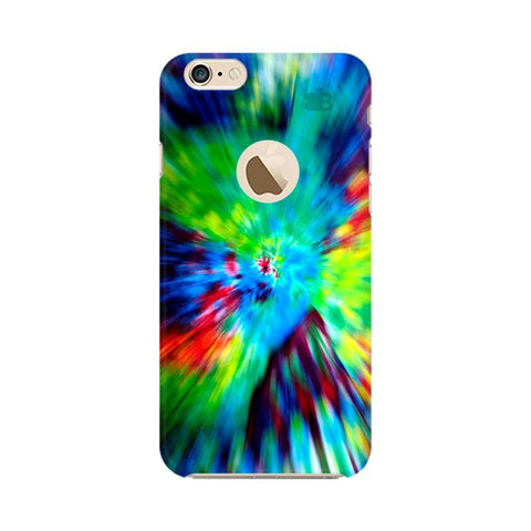 Radial Tie & Die Apple iPhone 6s with Apple Round  Phone Cover