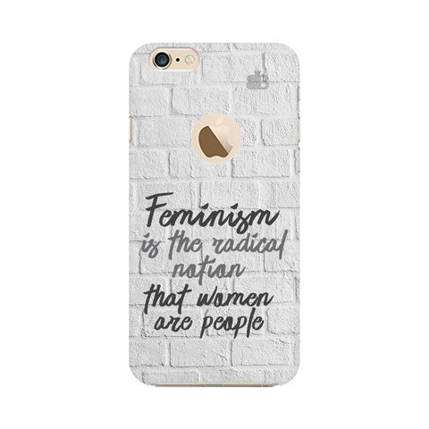 Radical Feminism Apple iPhone 6s with Apple Round  Phone Cover