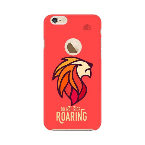 Roaring Lion Apple iPhone 6s with Apple Round  Phone Cover