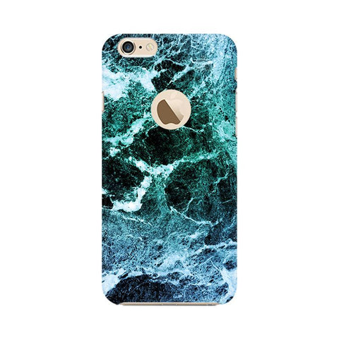 Sea Marble Apple iPhone 6s with Apple Round  Phone Cover