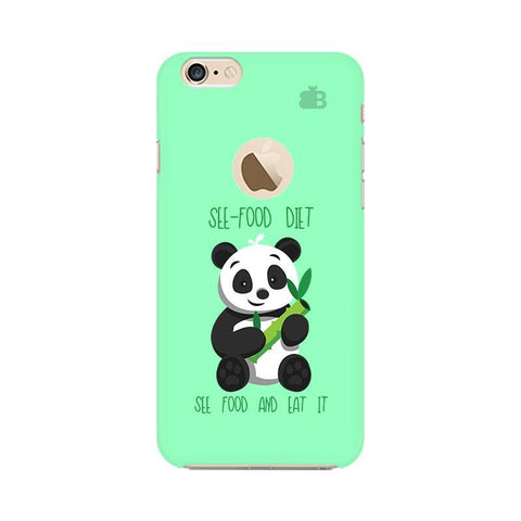 See-Food Diet Apple iPhone 6s with Apple Round  Phone Cover