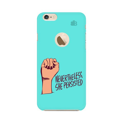 She Persisted Apple iPhone 6s with Apple Round  Phone Cover