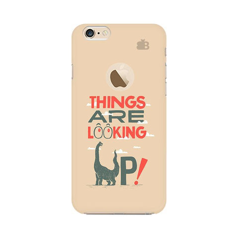 Things are looking Up Apple iPhone 6s with Apple Round  Phone Cover