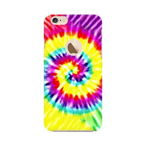 Tie & Die Art Apple iPhone 6s with Apple Round  Phone Cover