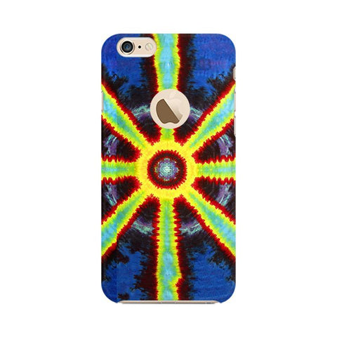 Tie & Die Pattern Apple iPhone 6s with Apple Round  Phone Cover