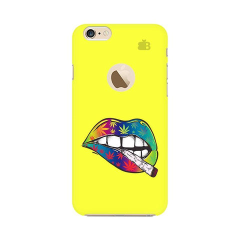 Trippy Lips Apple iPhone 6s with Apple Round  Phone Cover