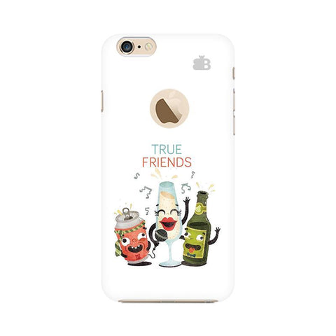 True Friends Apple iPhone 6s with Apple Round  Phone Cover