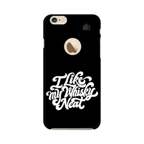 Whiskey Neat Apple iPhone 6s with Apple Round  Phone Cover
