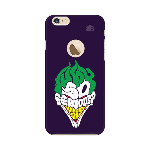 Why So Serious Apple iPhone 6s with Apple Round  Phone Cover