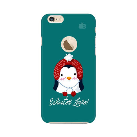 Winter Love Apple iPhone 6s with Apple Round  Phone Cover