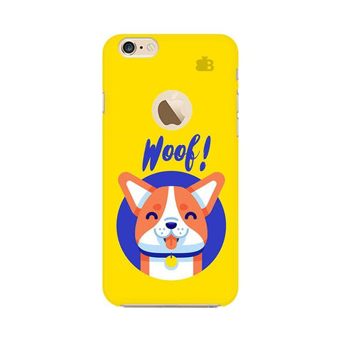 Woof Apple iPhone 6s with Apple Round  Phone Cover