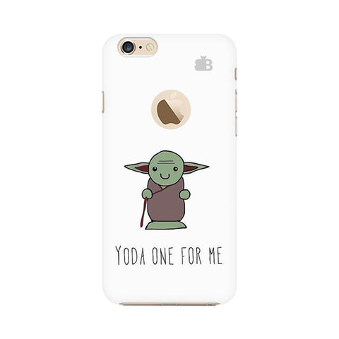 Yoda One Apple iPhone 6s with Apple Round  Phone Cover