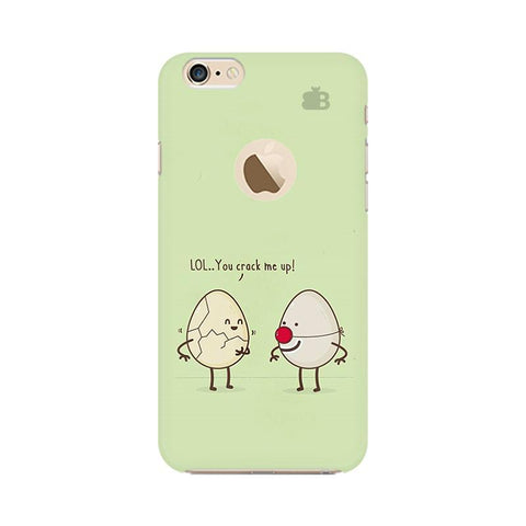 You Crack me up Apple iPhone 6s with Apple Round  Phone Cover