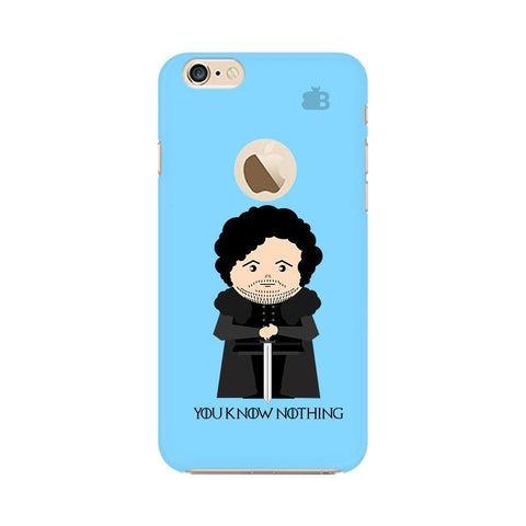 You Know Nothing Apple iPhone 6s with Apple Round  Phone Cover