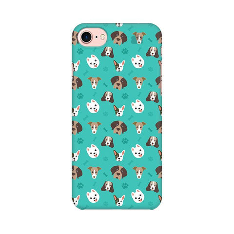Doggie Pattern Apple iPhone 7 Phone Cover