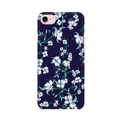 Dogwood Floral Pattern Apple iPhone 7 Phone Cover