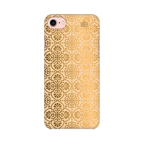 Ethnic Gold Ornament Apple iPhone 7 Phone Cover