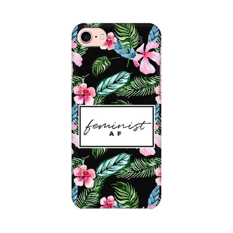 Feminist AF Apple iPhone 7 Phone Cover