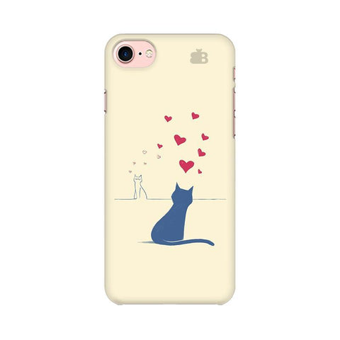 Kitty in Love Apple iPhone 7 Phone Cover