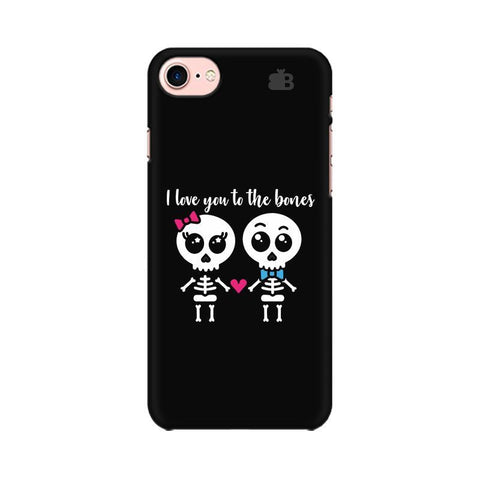 Love to the Bones Apple iPhone 7 Phone Cover