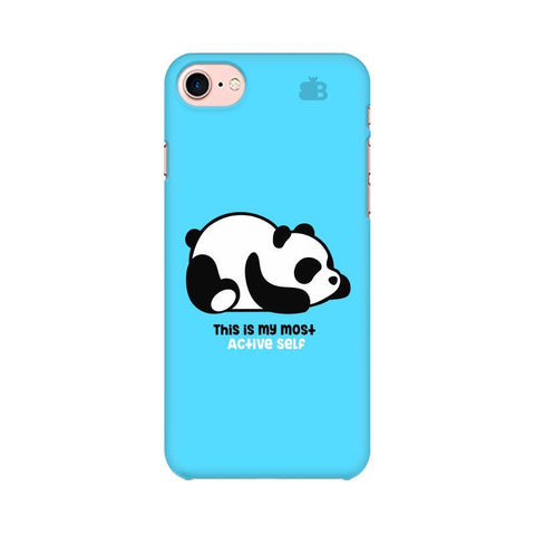 Most Active Panda Apple iPhone 7 Phone Cover