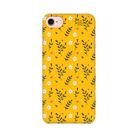 Summer Floral Pattern Apple iPhone 7 Phone Cover