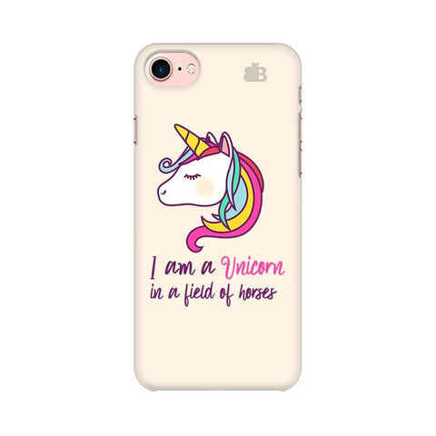 Unicorn in Horses Apple iPhone 7 Phone Cover