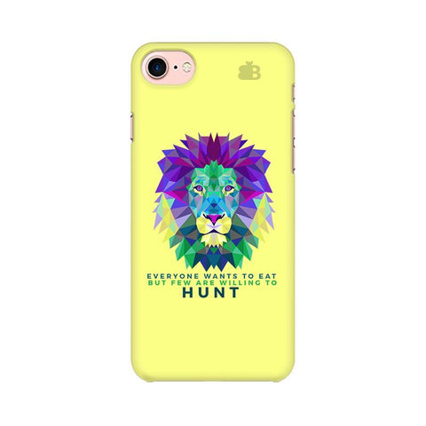 Willing to Hunt Apple iPhone 7 Phone Cover