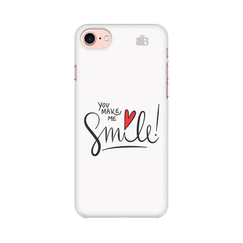 You make me Smile Apple iPhone 7 Phone Cover