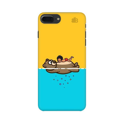 Baloo and Mowgli Apple iPhone 7 Plus Phone Cover