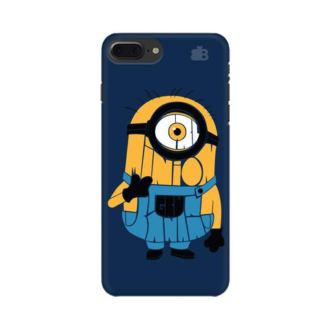 Minion Typography Apple iPhone 7 Plus Phone Cover