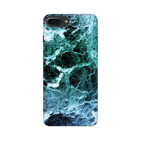 Sea Marble Apple iPhone 7 Plus Phone Cover