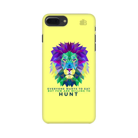 Willing to Hunt Apple iPhone 7 Plus Phone Cover