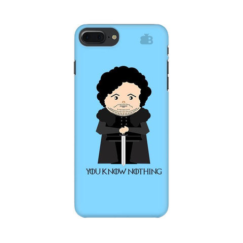 You Know Nothing Apple iPhone 7 Plus Phone Cover