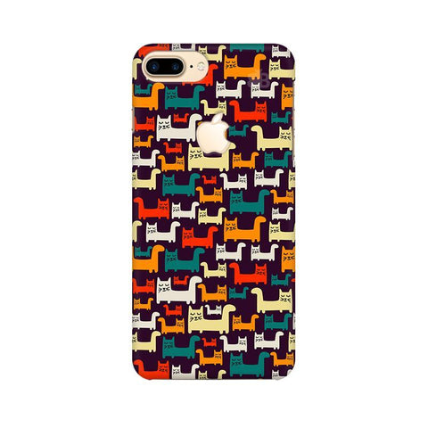 Chill Cats Apple iPhone 7 Plus with Apple Cut Phone Cover