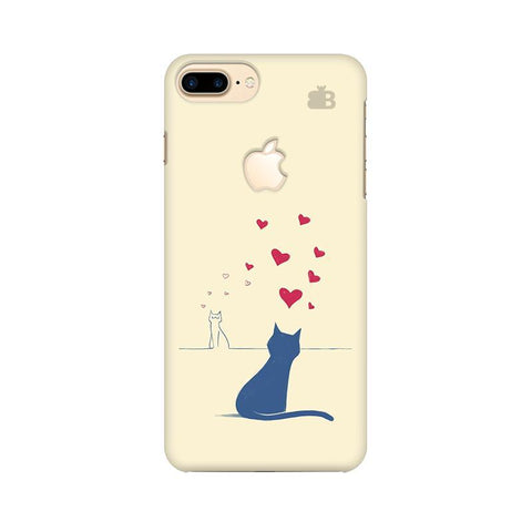 Kitty in Love Apple iPhone 7 Plus with Apple Cut Phone Cover