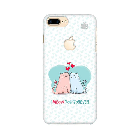 Meow You Forever Apple iPhone 7 Plus with Apple Cut Phone Cover